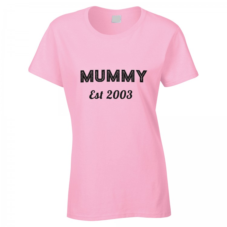 Personalised Fitted T Shirt